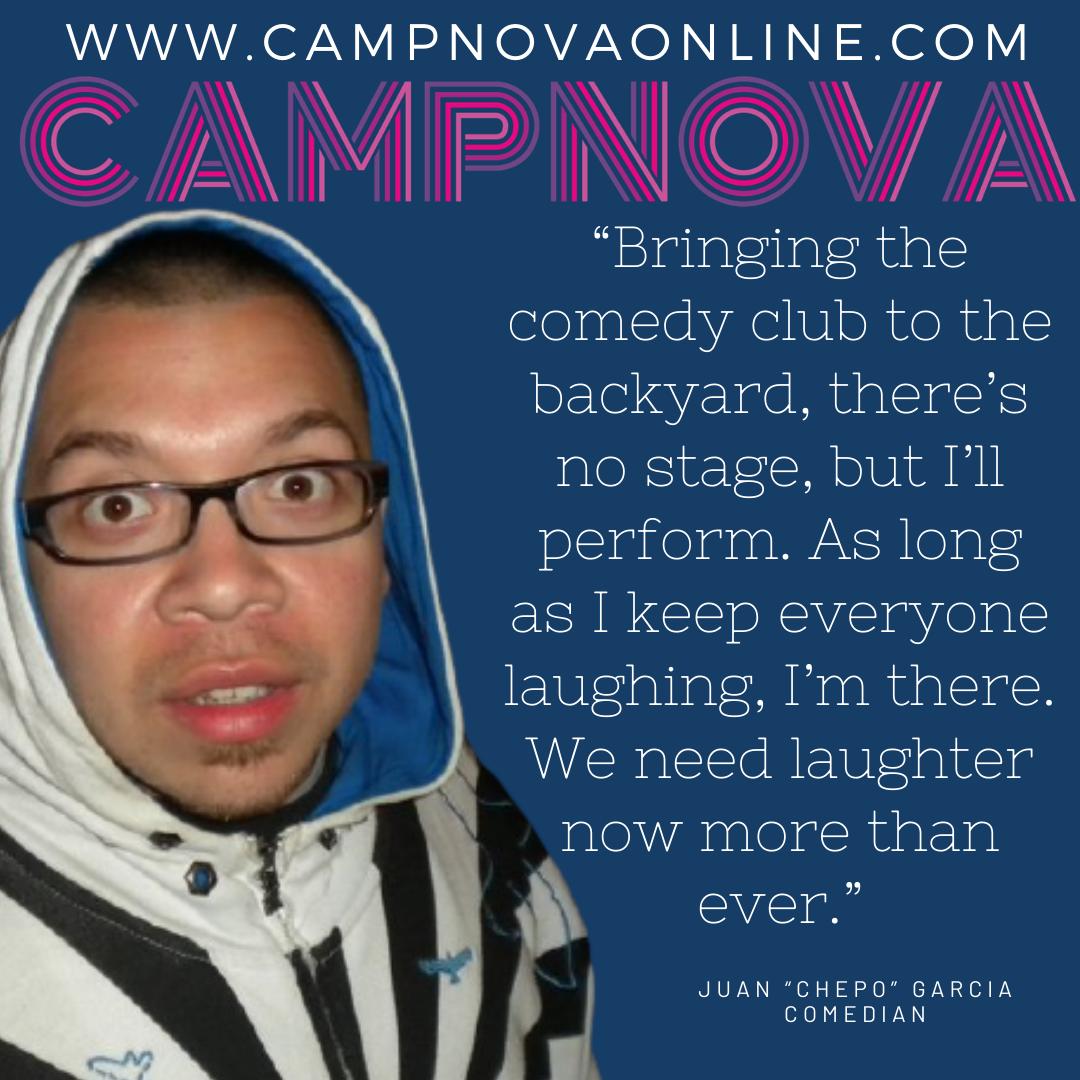 CampNova Juan Garcia Quote