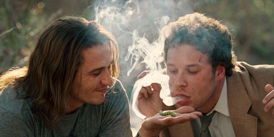 James Franco and Seth Rogen - Pineapple Express Movie gif