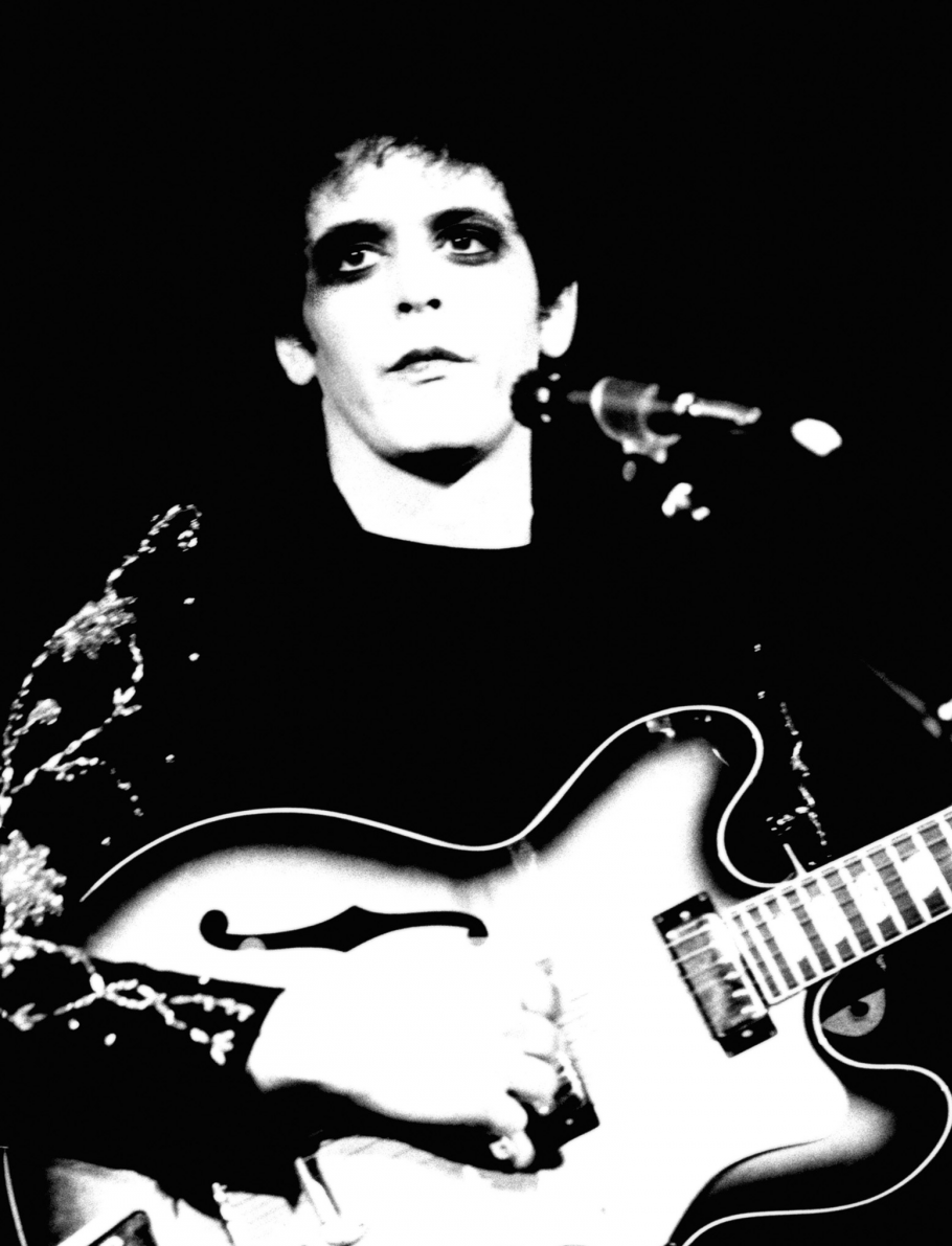 """Picture of Lou Reed's album cover """"Transformer"""""""
