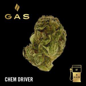 GAS 87 Octane Chem Driver (3.5g) - Sativa Hybrid