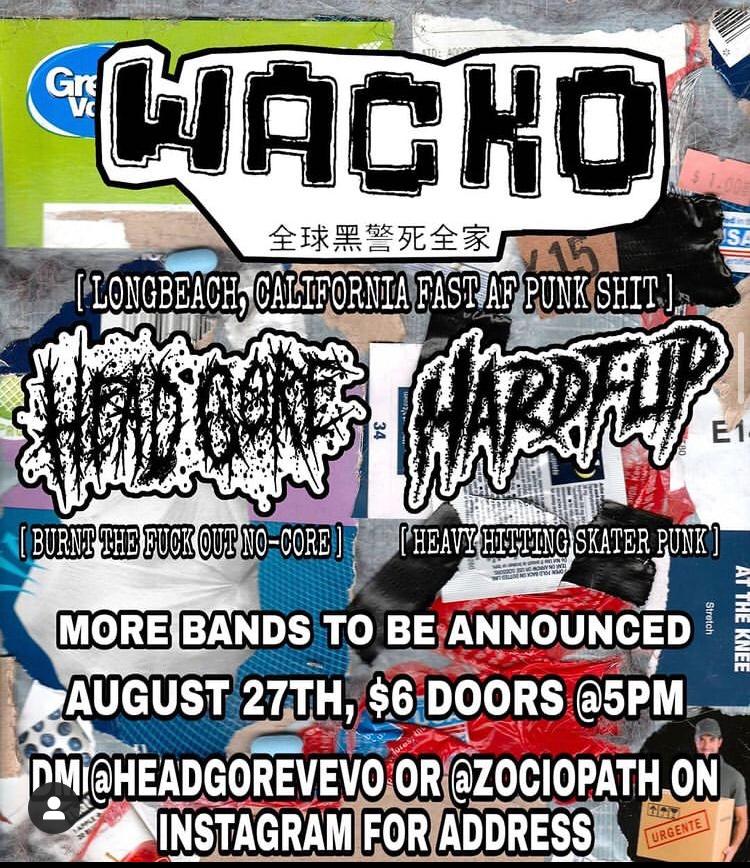Wacko Aug. 27 LBC