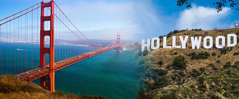 san Francisco-California-los-angeles-California-Hollywood-sign